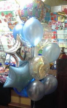 Воздушные шары на день рождения мальчику