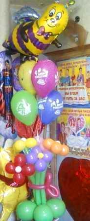 Воздушные шары букет